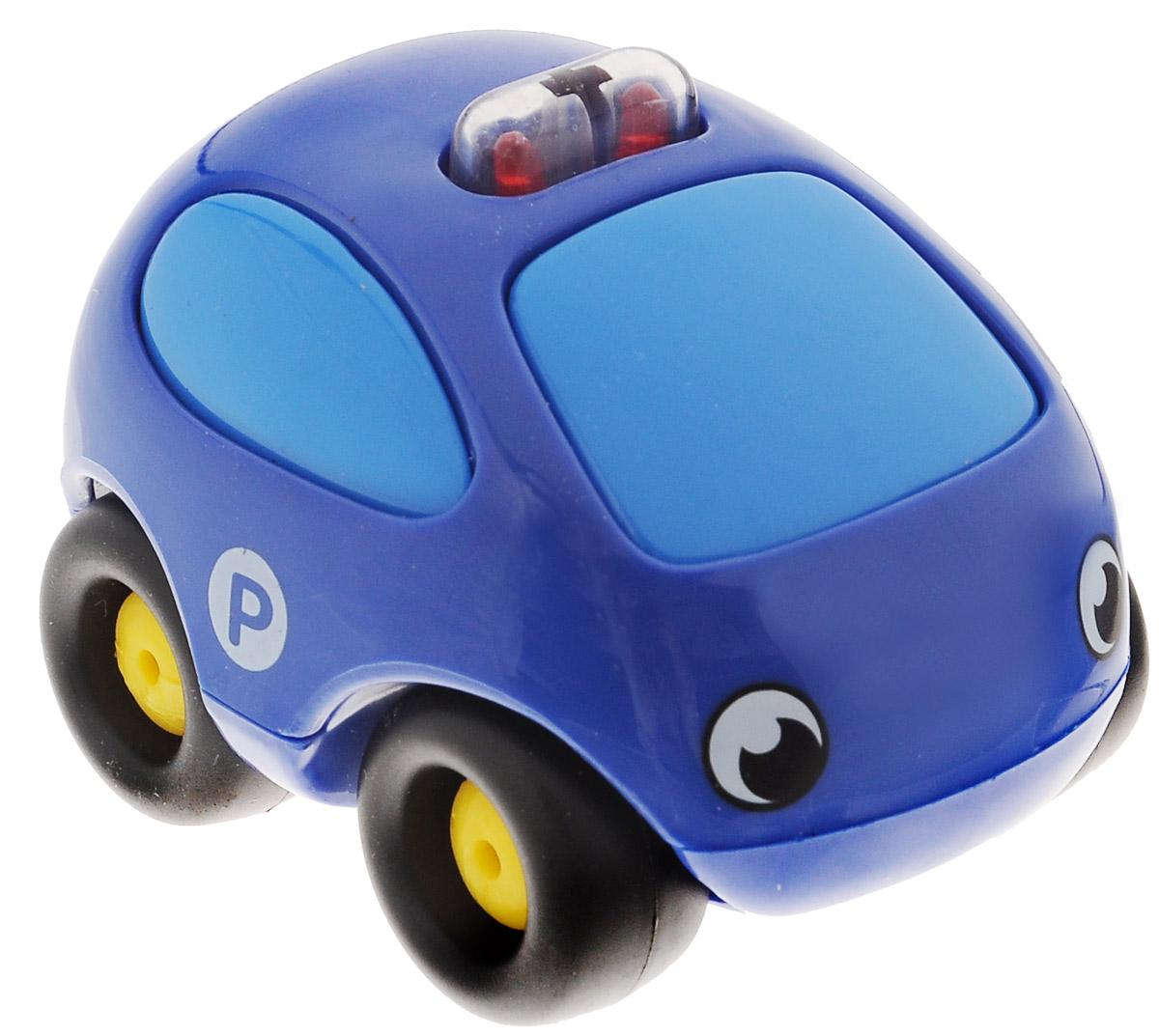 Smoby Машинка Vroom Planet цвет синий750029_синийМини-машинка из серии Vroom Planet непременно привлечет внимание малыша благодаря звуковым и световым эффектам. Игрушка выполнена из абсолютно безопасного для малыша высококачественного пластика. Машинка снабжена небольшим моторчиком и дополнена световыми и звуковыми эффектами. Игра с машинкой помогает развивать мелкую моторику, цветовосприятие, координацию движений, а также являются хорошим средством для развлечения ребенка. Порадуйте своего малыша таким замечательным подарком. Питание: 2 батарейки напряжением 1,5V типа LR44/AG13 (входят в комплект).