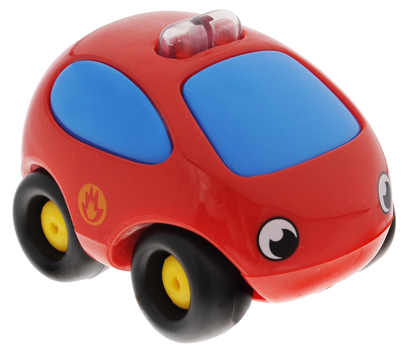 Smoby Машинка Vroom Planet цвет красный750029_красныйМини-машинка из серии Vroom Planet непременно привлечет внимание малыша благодаря звуковым и световым эффектам. Игрушка выполнена из абсолютно безопасного для малыша высококачественного пластика. Машинка снабжена небольшим моторчиком и дополнена световыми и звуковыми эффектами. Игра с машинкой помогает развивать мелкую моторику, цветовосприятие, координацию движений, а также являются хорошим средством для развлечения ребенка. Порадуйте своего малыша таким замечательным подарком. Питание: 2 батарейки напряжением 1,5V типа LR44/AG13 (входят в комплект).