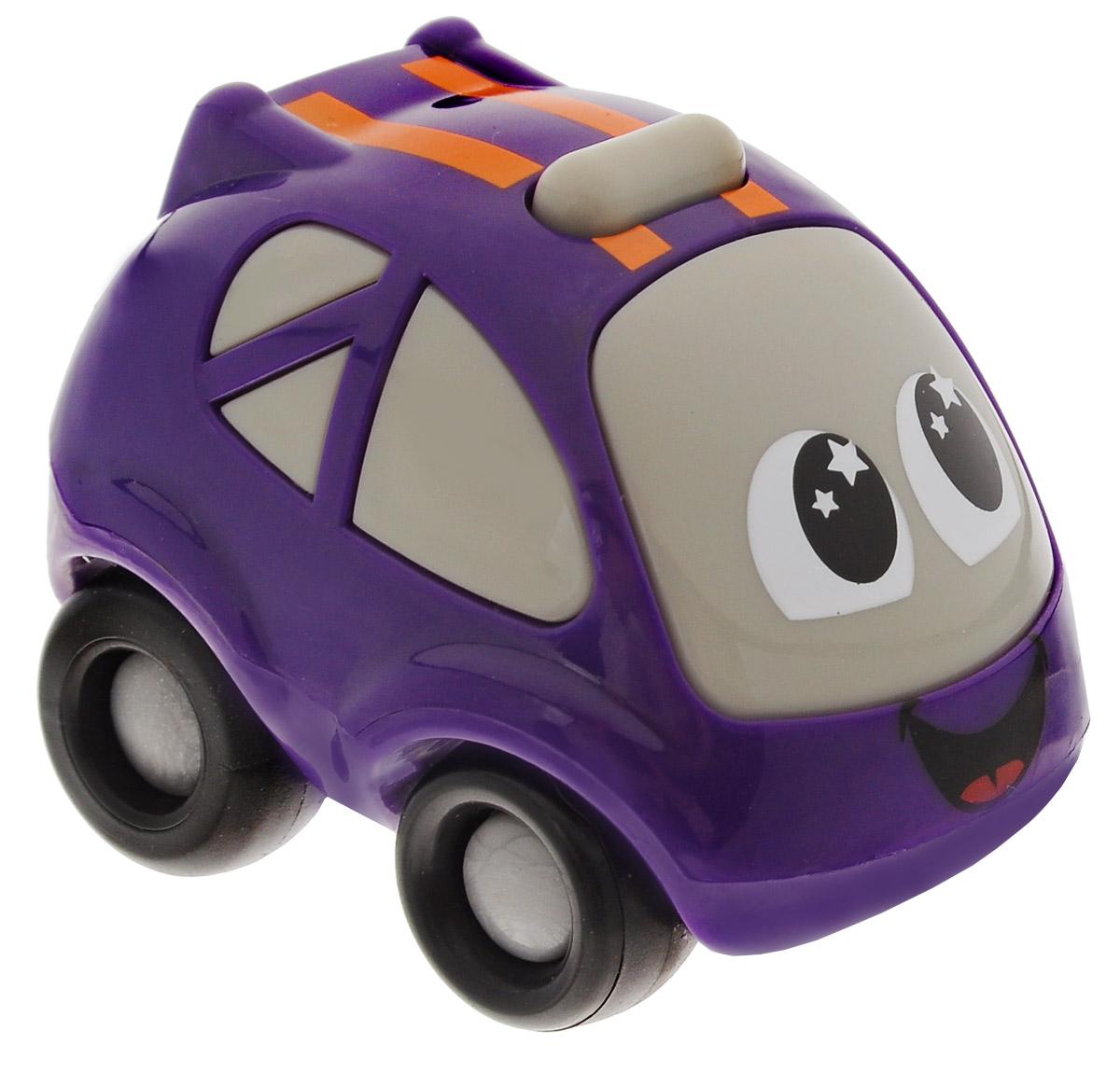 Smoby Машинка Vroom Planet цвет фиолетовый211287_фиолетовыйМини-машинка из серии Vroom Planet непременно привлечет внимание малыша. Игрушка выполнена из абсолютно безопасного для малыша высококачественного пластика. Машинка снабжена особым двигателем, при помощи которого она может двигаться самостоятельно. Игра с машинкой помогает развивать мелкую моторику, цветовосприятие, координацию движений, а также являются хорошим средством для развлечения ребенка. Порадуйте своего малыша таким замечательным подарком. Питание: 1 батарейка напряжением 1,5V типа LR03/ААА (входит в комплект).