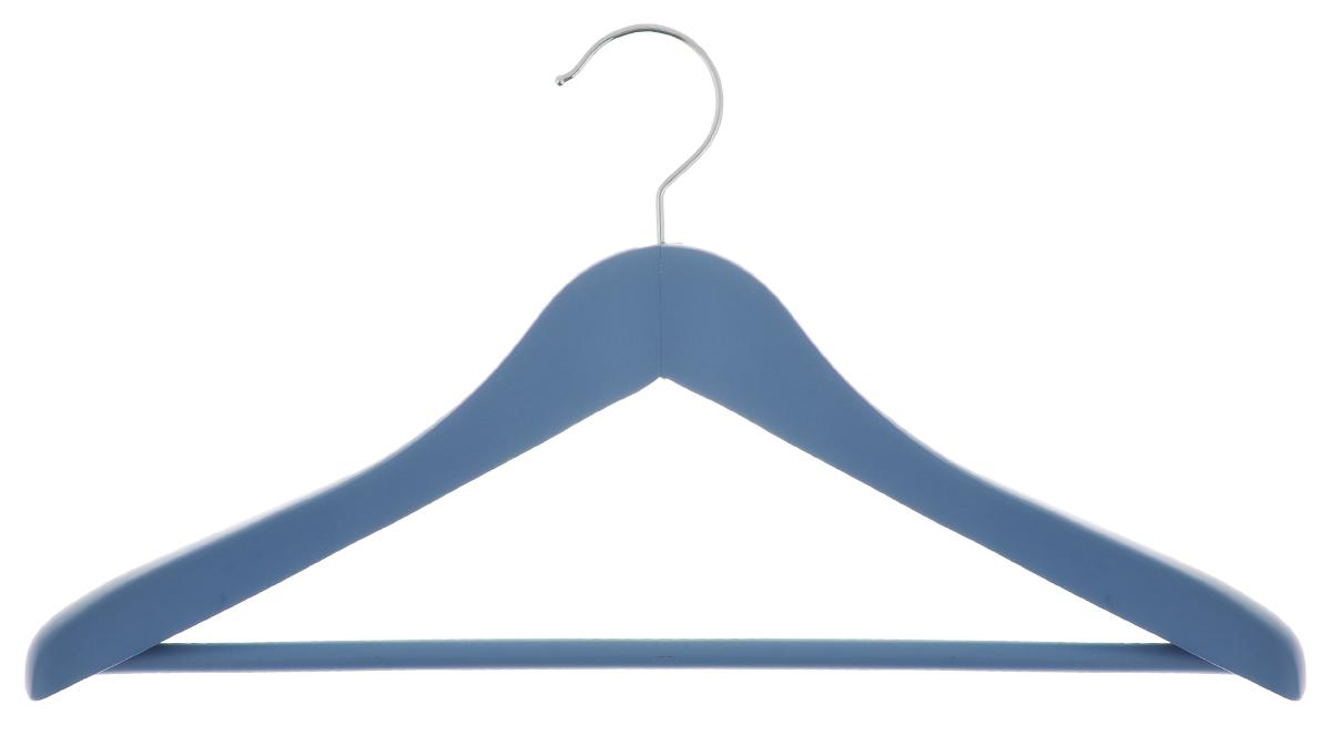 Вешалка для одежды Cosatto, цвет: голубой, 46 смCOVLPALT81Вешалка для одежды Cosatto, выполненная из дерева и нержавеющей стали, идеально подойдет для разного вида одежды. Она имеет надежный крючок и деревянную перекладину для брюк и юбок. Вешалка - это незаменимая вещь для того, чтобы ваша одежда всегда оставалась в хорошем состоянии. Размер вешалки: 46 см х 4 см х 23,5 см.