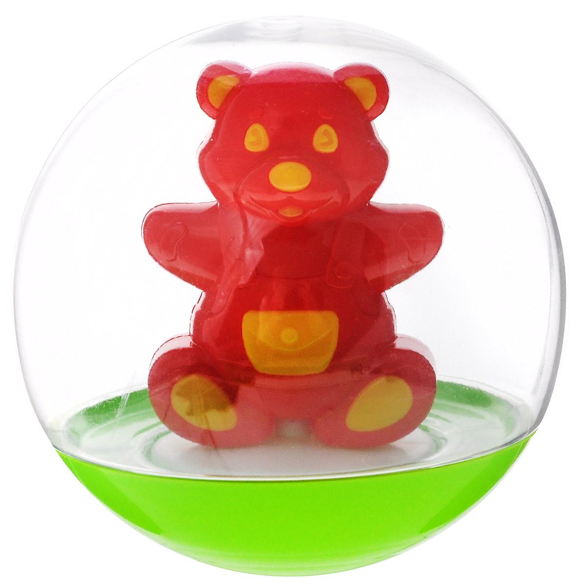 Stellar Погремушка-неваляшка Мишка цвет красный желтый1_красныйПогремушка-неваляшка Stellar Мишка не позволит скучать вашему малышу на улице, дома и во время водных процедур. Игрушка выполнена из пластика в виде симпатичного медвежонка в прозрачном шаре. Неваляшка забавно покачивается под приятный звук погремушки, развлекая малыша. Игра с неваляшкой способствует развитию мелкой моторики, координации, слуха и цветового восприятия.