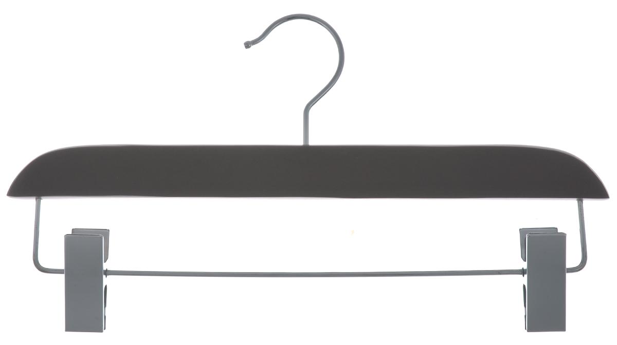 Вешалка для брюк и юбок Cosatto, с зажимами, цвет: мокко, 33 смCOVLPALT32МВешалка Cosatto, выполненная из дерева и нержавеющей стали, идеально подойдет для брюк и юбок. Она имеет надежный крючок и металлическую перекладину с двумя зажимами. Вешалка - это незаменимая вещь для того, чтобы ваша одежда всегда оставалась в хорошем состоянии. Размер вешалки: 33 см х 1,5 см х 16 см.
