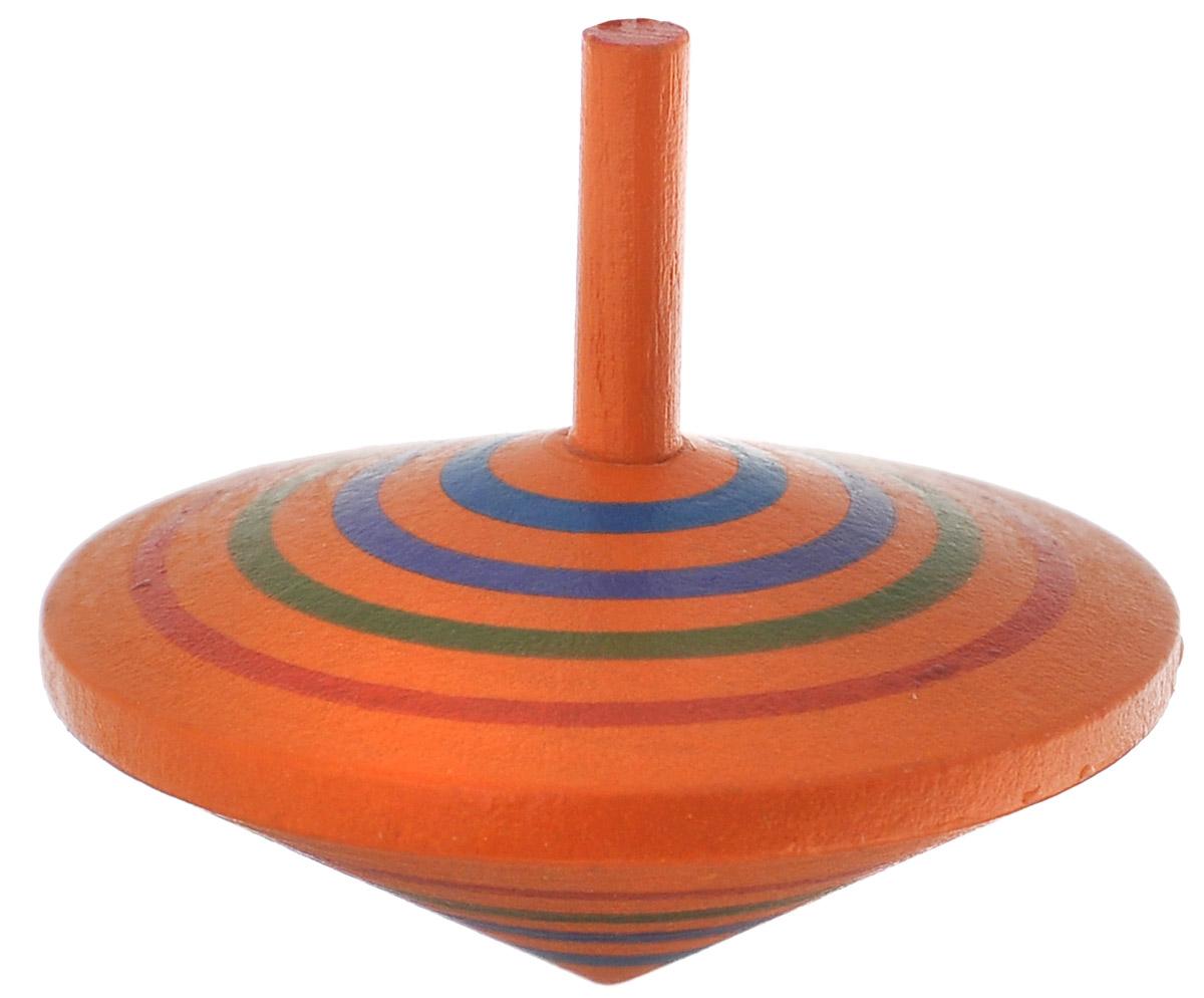 Mapacha Игрушка Волчок Спиралька цвет оранжевый76417_оранжевыйВолчек Спиралька - яркая игрушка, которая непременно привлечет внимание малыша. Игрушка способствует развитию логики, координации движений и мелкой моторики рук. Волчек выполнен из высококачественной древесины. Порадуйте своего ребенка таким замечательным подарком!