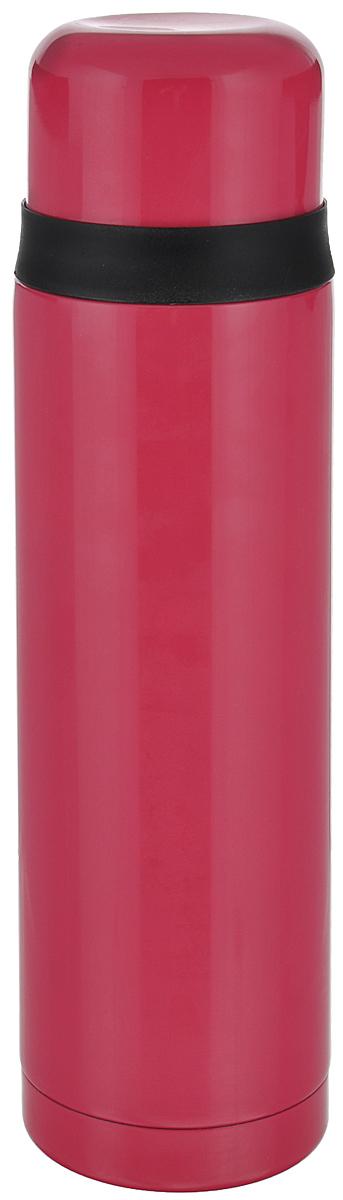 Термос Leifheit Coco, цвет: малиновый, 1 л28529Простая и гармоничная форма термоса Leifheit Coco, выполненного из высококачественной стали, удовлетворит желания любого потребителя. Термос оснащен клапаном и поворотной крышкой, которую можно использовать в качестве стакана. Благодаря корпусу с двойными стенками термос сохранит ваши напитки горячими или холодными надолго. Диаметр горлышка термоса: 5 см. Диаметр крышки: 8 см. Высота термоса (с учетом крышки): 30 см.