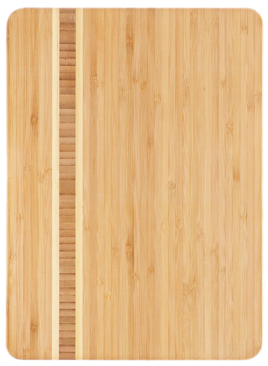 Доска разделочная Zeller, бамбуковая, 34 см х 25 см25236Разделочная доска Zeller изготовлена из натурального дерева. Функциональная и простая в использовании, разделочная доска Zeller прекрасно впишется в интерьер любой кухни и прослужит вам долгие годы. Для мытья использовать неабразивные моющие средства.