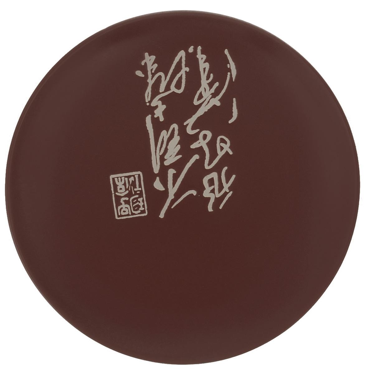 Тарелка Wing Star Терракота, цвет: темно-коричневый, диаметр 18 смLJ2085-3185BТарелка Wing Star Терракота изготовлена из высококачественной керамики. Изделие украшено оригинальной надписью. Такая тарелка украсит сервировку стола и подчеркнет прекрасный вкус хозяйки. Можно мыть в посудомоечной машине и использовать в микроволновой печи. Диаметр: 18 см. Высота: 2 см.