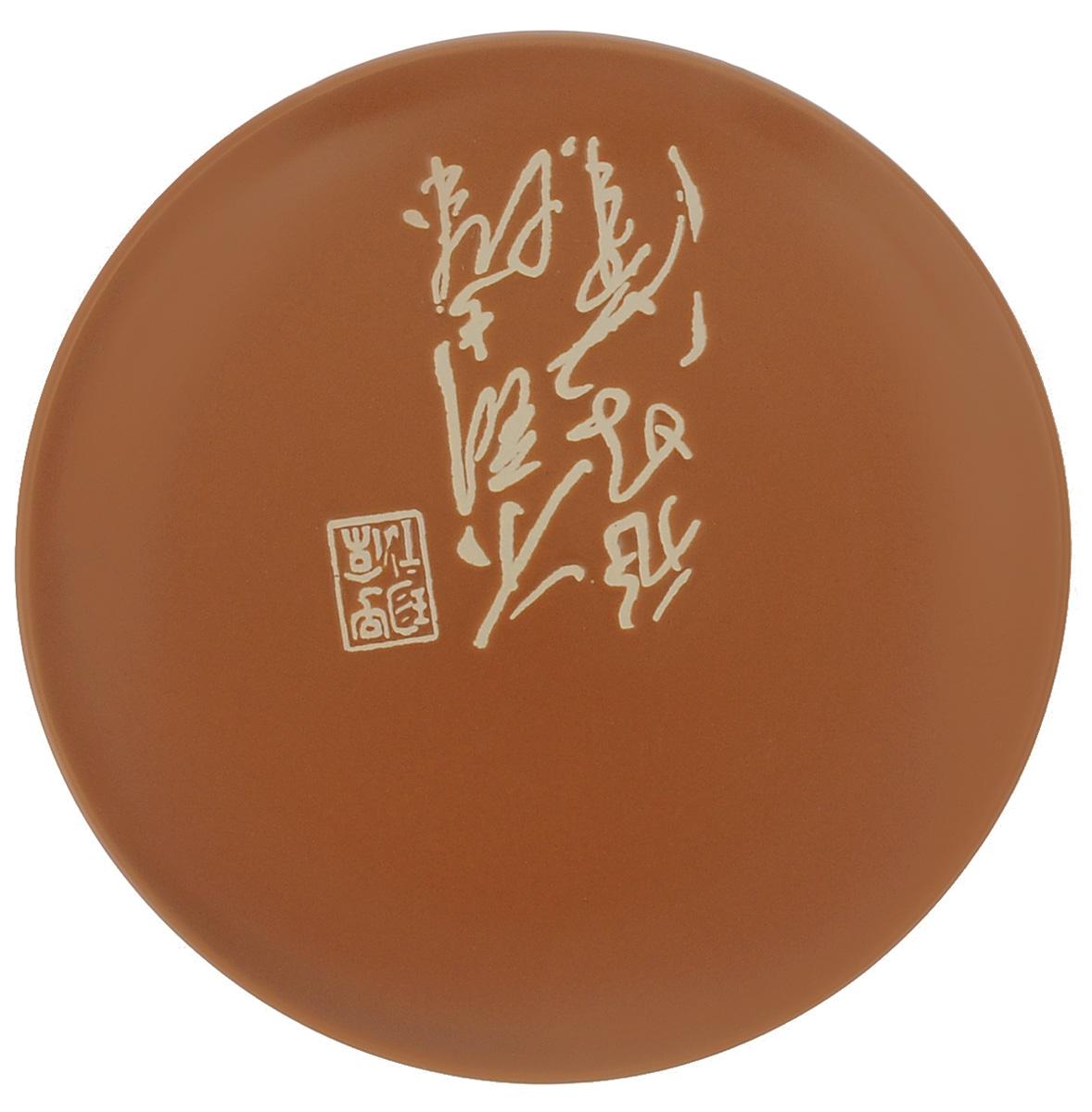 Тарелка Wing Star Терракота, диаметр 18 смLJ2085-3185TТарелка Wing Star Терракота изготовлена из высококачественной керамики. Изделие украшено оригинальной надписью. Такая тарелка украсит сервировку стола и подчеркнет прекрасный вкус хозяйки. Можно мыть в посудомоечной машине и использовать в микроволновой печи. Диаметр: 18 см. Высота: 2 см.