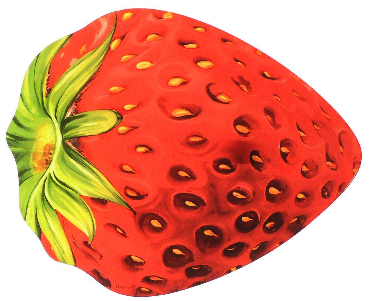 Тарелка Zibo Shelley Клубника, 30 х 23 смZSSB0012H167Тарелка Zibo Shelley Клубника изготовлена из высококачественного стекла. Предназначена для красивой подачи различных блюд. Изделие выполнено в виде спелой и сочной клубники. Такая тарелка украсит сервировку стола и подчеркнет прекрасный вкус хозяйки. Не рекомендуется мыть в посудомоечной машине и использовать в СВЧ. Размер (по верхнему краю): 30 см х 23 см. Высота: 2,5 см.
