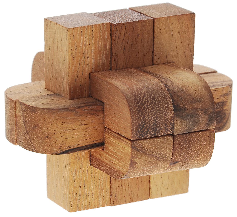 Dilemma Головоломка Колючка со смешанными блоками 3DIQ139Головоломка Dilemma Колючка со смешанными блоками 3D, выполненная из дерева, станет отличным подарком всем любителям головоломок! Что такое пазл Колючка? Не менее 3 деталей должны пересекаться под прямыми углами. Самый известный пазл подобного типа - Колючка из 6 элементов, содержащий 3 набора пар деталей, пересекающихся друг с другом. Пазл Колючка состоит из 6 деревянных деталей. Разберите пазл и соберите его снова в трехмерную пересекающуюся конструкцию. Слишком сложно? Воспользуйтесь подсказкой из предложенного решения. Игра рассчитана на одного игрока. Головоломка Dilemma Колючка со смешанными блоками 3D стимулирует логику, пространственное мышление и мелкую моторику рук.