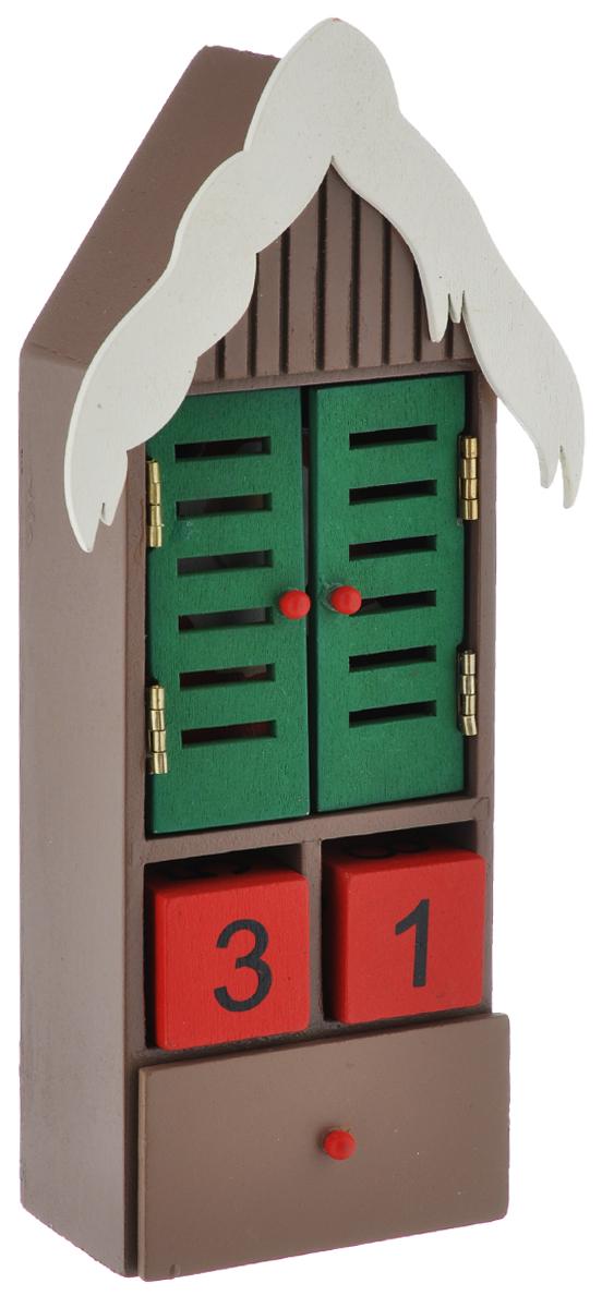 Новогодний декоративный календарь Феникс-Презент Дед Мороз