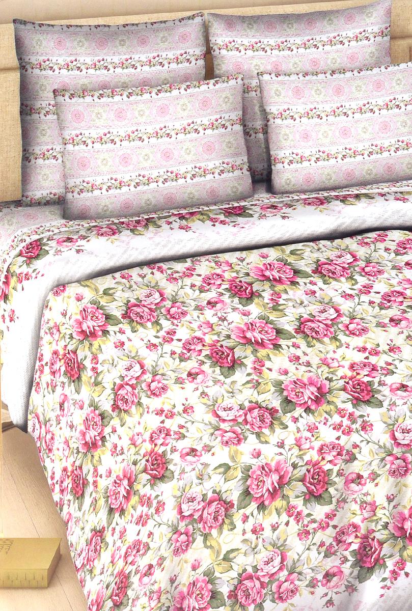 Комплект белья Василиса Розовый сон, семейный, наволочки 70х70, цвет: розовый, белый326_1/сКомплект постельного белья Василиса Розовый сон состоит из пододеяльника, простыни и двух наволочек. Дизайн - крупные цветы. Белье изготовлено из поплина (хлопка) - гипоаллергенного, экологичного, высококачественного волокна, благодаря чему эта ткань мягкая, нежная на ощупь и очень прочная, не образует катышков на поверхности. При соблюдении рекомендаций по уходу, это белье выдерживает много стирок, не линяет и не теряет свою первоначальную прочность. Уникальная ткань обеспечивает легкую глажку.