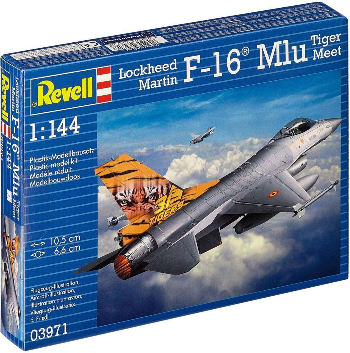 Revell Сборная модель Самолет Lockheed Martin F-16 Mlu Tiger Meet