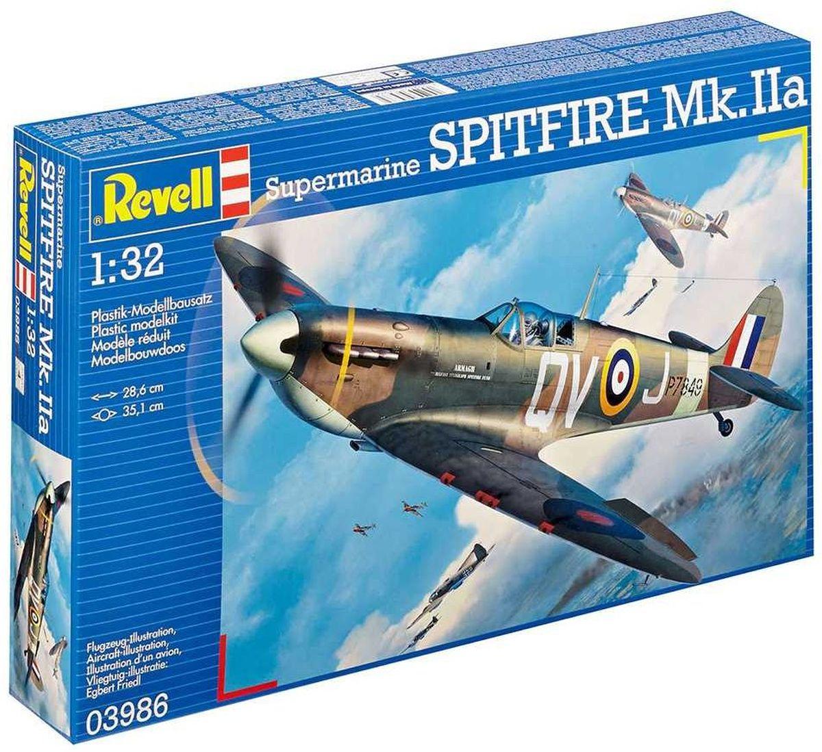 Revell Сборная модель Истребитель Supermarine Spitfire Mk IIa