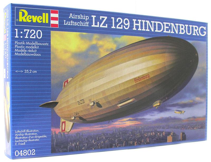 Revell Сборная модель Дирижабль LZ 129 Hindenburg
