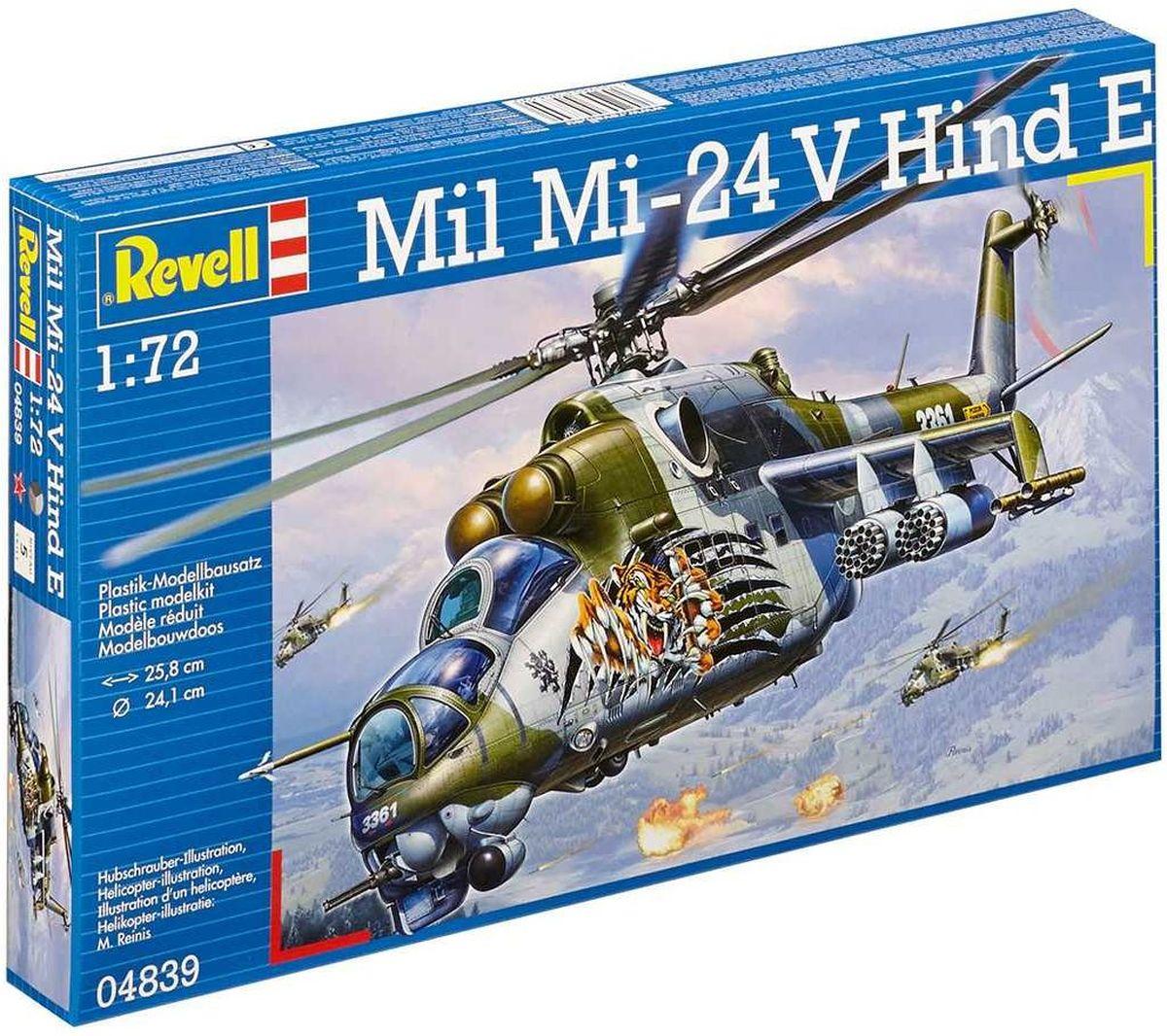 Revell Сборная модель Вертолет Ми-24 Лань