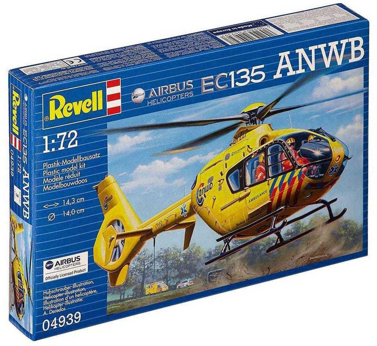 Revell Сборная модель Вертолет EC135 ANWB