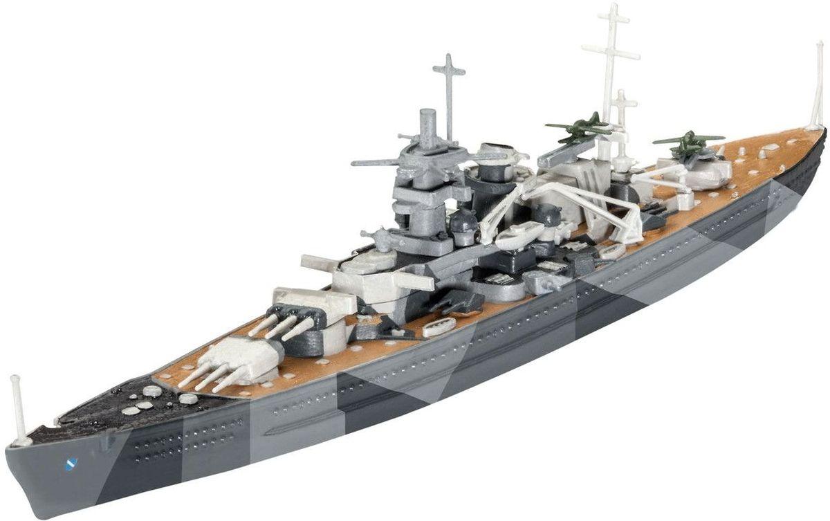 Revell Сборная модель Линкор Scharnhorst