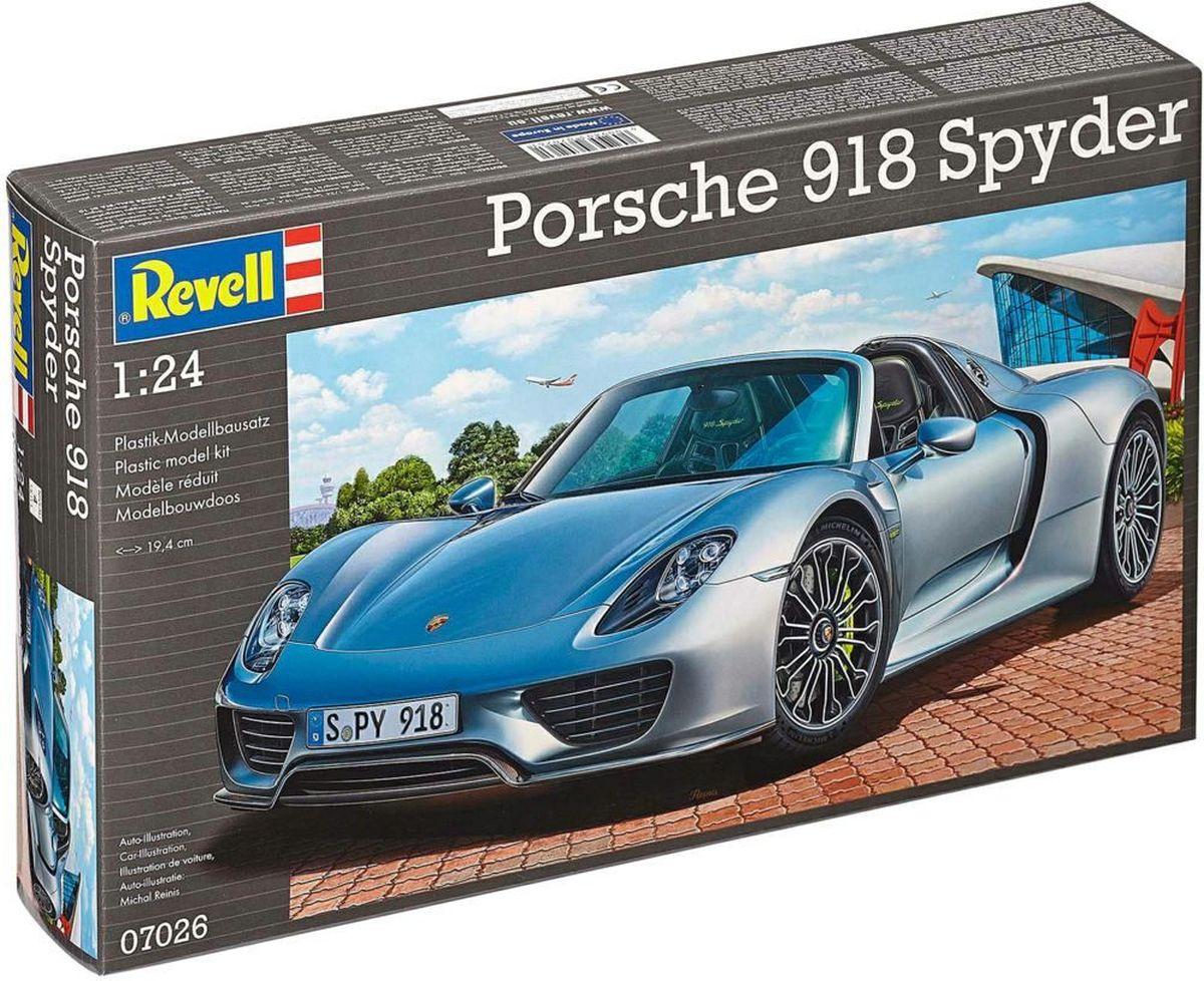Revell Сборная модель Автомобиль Porsche 918 Spyder