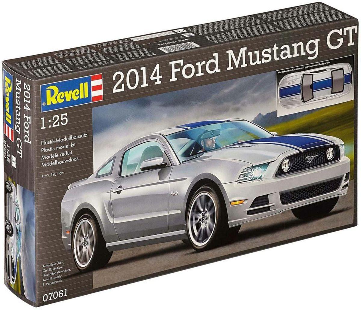 Revell Сборная модель Автомобиль 2014 Ford Mustang GT07061RС помощью сборной модели Revell Автомобиль 2014 Ford Mustang GT вы и ваш ребенок сможете собрать уменьшенную копию одноименного автомобиля. Набор включает в себя 47 пластиковых элементов для сборки. Это пятая по счёту генерация Ford Mustang GT, под капотом которой расположен знакомый по текущей модели 5,0 литровый двигатель. Также в наборе схематичная инструкция по сборке. Процесс сборки развивает интеллектуальные и инструментальные способности, воображение и конструктивное мышление, а также прививает практические навыки работы со схемами и чертежами. Уровень сложности: 3. УВАЖАЕМЫЕ КЛИЕНТЫ! Обращаем ваше внимание на тот факт, что элементы для сборки не покрашены. Клей и краски в комплект не входят.