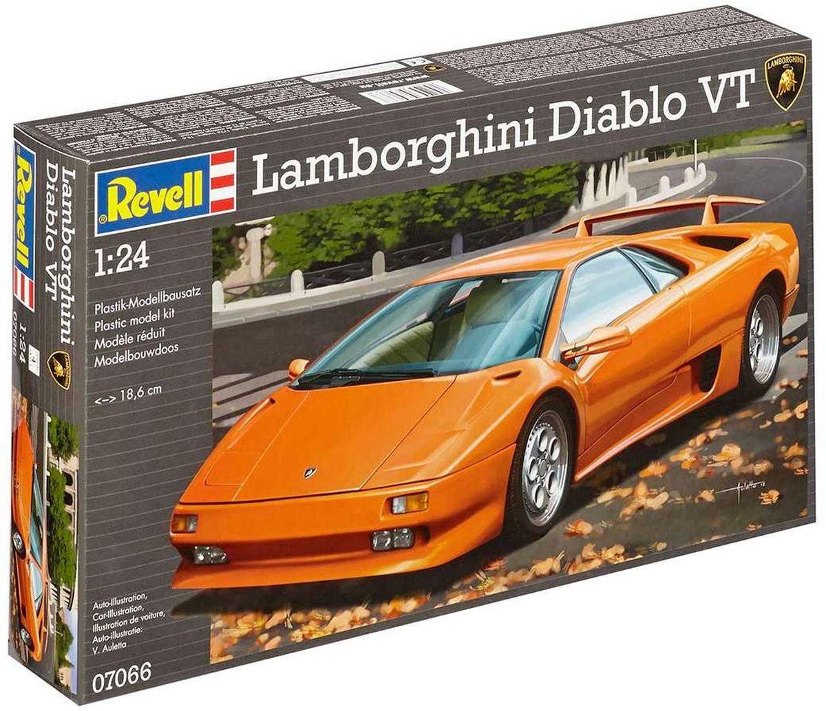 Revell Сборная модель Автомобиль Lamborghini Diablo VT07066RС помощью сборной модели Revell Автомобиль Lamborghini Diablo VT вы и ваш ребенок сможете собрать уменьшенную копию одноименного автомобиля. Набор включает в себя 81 пластиковый элемент для сборки. Название этого спортивного автомобиля - Дьявол - намекает покупателю о том, что ему ожидать от его нового спорткара. В 1990 году Lamborghini представил Diablo в то время самый быстрый серийный автомобиль в мире. Он стал мощным преемником Countach, который производился в течение 16 лет. В 1993 году Diablo VT поступил в продажу по цене в 500 тысяч немецких марок. В период между 1993 и 1999 было продано четыреста Diablo VT. Возможно, кто-то осмелится развить максимальную скорость этого болида в 328 км / ч. Процесс сборки развивает интеллектуальные и инструментальные способности, воображение и конструктивное мышление, а также прививает практические навыки работы со схемами и чертежами. Уровень сложности: 4. УВАЖАЕМЫЕ КЛИЕНТЫ! Обращаем ваше внимание на...
