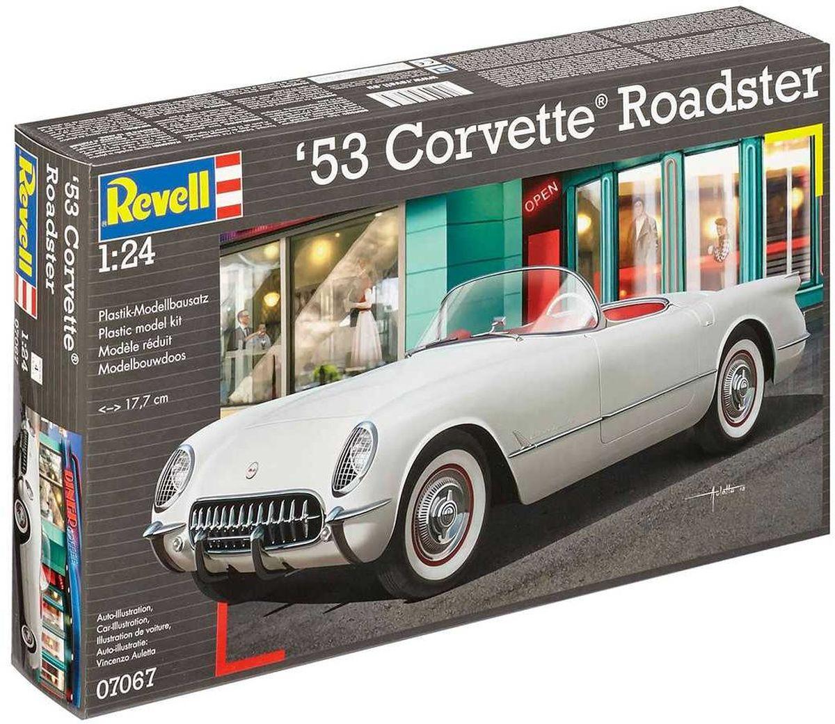 Revell Сборная модель Автомобиль 53 Corvette Roadster