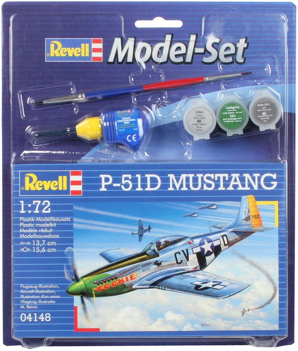 Revell Набор для сборки и раскрашивания Истребитель P-51D Mustang
