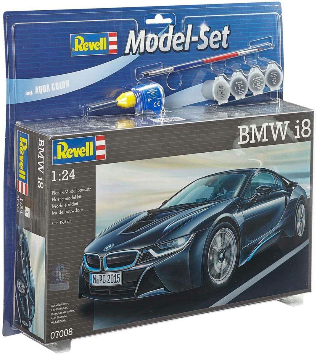 Revell Набор для сборки и раскрашивания модели Автомобиль BMW i8