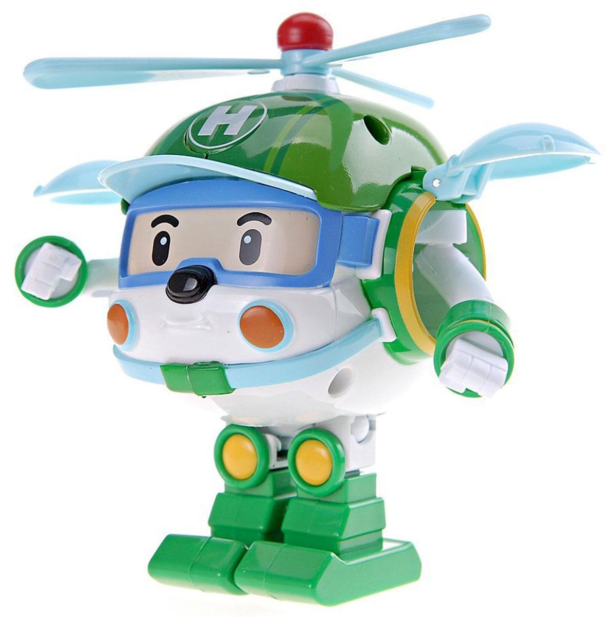 Robocar Poli Игрушка-трансформер Хэли 10 см83169Игрушка-трансформер Хэли не оставит равнодушным вашего малыша. Она выполнена из прочного пластика в виде вертолета-спасателя Хэли - персонажа мультфильма Робокар Поли и его друзья. Он всегда готов трансформироваться из робота в вертолет и вылететь на помощь любому жителю городка Брумстаун. Ваш ребенок с удовольствием будет играть с трансформером, придумывая разные истории. Порадуйте его таким замечательным подарком! Характеристики: Высота робота: 10 см. Размер упаковки: 13 см x 13 см x 17 см. Изготовитель: Китай.