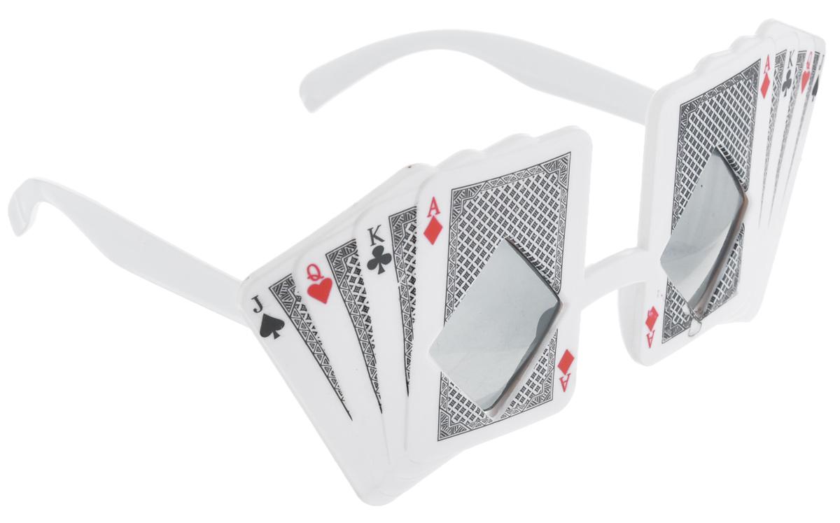 Очки карнавальные Феникс-Презент. 3116631166Карнавальные очки Феникс-Презент, выполненные из пластика в виде карт, отлично дополнят ваш маскарадный костюм и помогут создать яркий образ. Очки предназначены для быстрого и необременительного перевоплощения на костюмированной вечеринке или маскараде. Сделайте свой праздник веселым и ярким!
