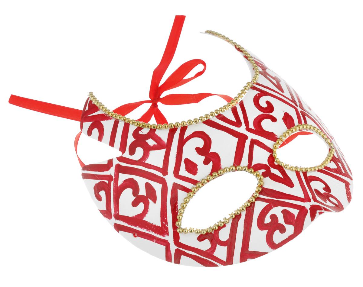 Маска карнавальная Феникс-Презент Люцифер34706Карнавальная маска Феникс-Презент Люцифер, изготовленная из пластика и украшенная оригинальными узорами, внесет нотку задора и веселья в праздник. Маска станет завершающим штрихом в создании праздничного образа. Изделие крепится на голове при помощи атласной ленты. В этой роскошной маске вы будете неотразимы!