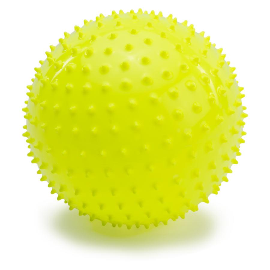 PicnMix Развивающая игрушка Мяч большой желтый113004Массажно-игровой большой мяч (D-18см) желтого цвета. Мяч способоствует гармоничному развитию всей мускулатуры ребенка, тренировке реакции, координации, цветового и тактильного восприятия. Подходит для игр в воде. Мяч снабжен ниппелем.