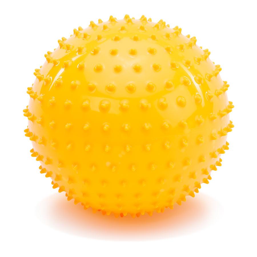 PicnMix Массажно-игровой мяч Геймбол 18 см цвет оранжевый113005Массажно-игровой мяч PicnMix Геймбол привлечет внимание вашего ребенка и станет его любимой игрушкой. Мяч снабжен ниппелем и подходит для игр в воде. Мяч способствует гармоничному развитию всей мускулатуры ребенка, тренировке реакции, координации, цветового и тактильного восприятия.