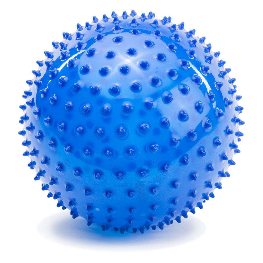 PicnMix Развивающая игрушка Мяч большой синий113007Массажно-игровой большой мяч (D-18см) синего цвета. Мяч способоствует гармоничному развитию всей мускулатуры ребенка, тренировке реакции, координации, цветового и тактильного восприятия. Подходит для игр в воде. Мяч снабжен ниппелем.