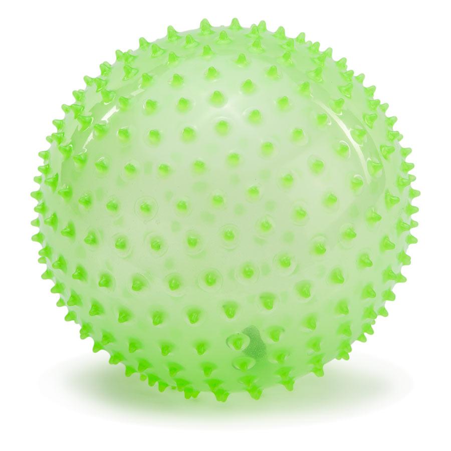 PicnMix Массажно-игровой мяч Геймбол 18 см цвет светящийся113009Массажно-игровой мяч PicnMix Геймбол привлечет внимание вашего ребенка и станет его любимой игрушкой. Мяч снабжен ниппелем и подходит для игр в воде. Мяч способствует гармоничному развитию всей мускулатуры ребенка, тренировке реакции, координации, цветового и тактильного восприятия.