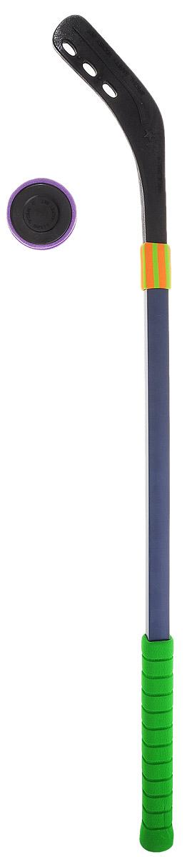 Safsof Набор для игры в хоккей Hockey Set цвет зеленыйHK70-02S(C)_зеленыйНабор для игры в хоккей Safsof Hockey Set будет полезным подарком для любителей подвижных игр и активного отдыха. Набор включает в себя прочную пластиковую клюшку с удобной мягкой ручкой и шайбу. Хоккейный набор поможет в приобщении ребенка к спорту, а также доставит много радости и принесет большое количество новых впечатлений. Приобретая набор для игры в хоккей, вы обеспечите малышу весело проведенное время и крепкое здоровье, ведь активные игры на природе очень полезны.