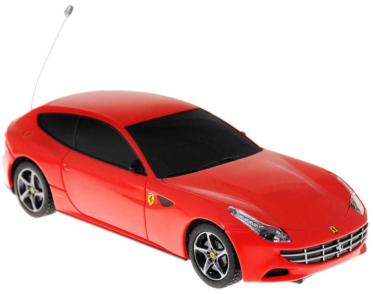 Rastar Радиоуправляемая модель Ferrari FF цвет красный масштаб 1:3250500Радиоуправляемая модель Rastar Ferrari FF станет отличным подарком любому мальчику! Это точная копия настоящего авто в масштабе 1:32. Возможные движения: вперед, назад влево. Пульт управления работает на частоте 27 MHz. Для работы игрушки необходимы 2 батарейки типа АА (не входят в комплект). Для работы пульта управления необходимы 2 батарейки типа АА (не входят в комплект).