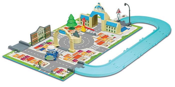 Robocar Poli Игровой набор Мэрия83279Игровой набор Robocar Poli Мэрия позволит вашему малышу погрузиться в мир Робокара Поли, прокатиться по улицам городка Брум и прийти на помощь жителям в разных ситуациях и происшествиях. Набор можно соединить с другими наборами этой серии, значительно расширив поле игры. Заселив город другими персонажами-автомобилями, малыш сделает жизнь этого тихого городка поистине нескучной! В комплекте машинка в виде Масти!