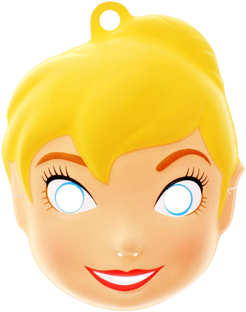 Disney Маска карнавальная Фея Динь-Динь23780Отправляясь на детский праздник, почему бы не создать образ очаровательной феи Динь-Динь? Для этого пригодится маска, которую можно использовать даже в качестве единственного карнавального элемента в одежде малышки. Надев ее, малютка легко перевоплощается в любимого персонажа. Изделие на резинке, поэтому легко подогнать под нужный размер. В маске имеются прорези не только для глаз ребенка, но и возле носа, рта для обеспечения доступа воздуха. Изделие отличается не только оригинальным дизайном, но и высоким качеством. Маска карнавальная Disney Фея Динь-Динь является отличным решением для карнавалов, утренников и просто детских праздников.