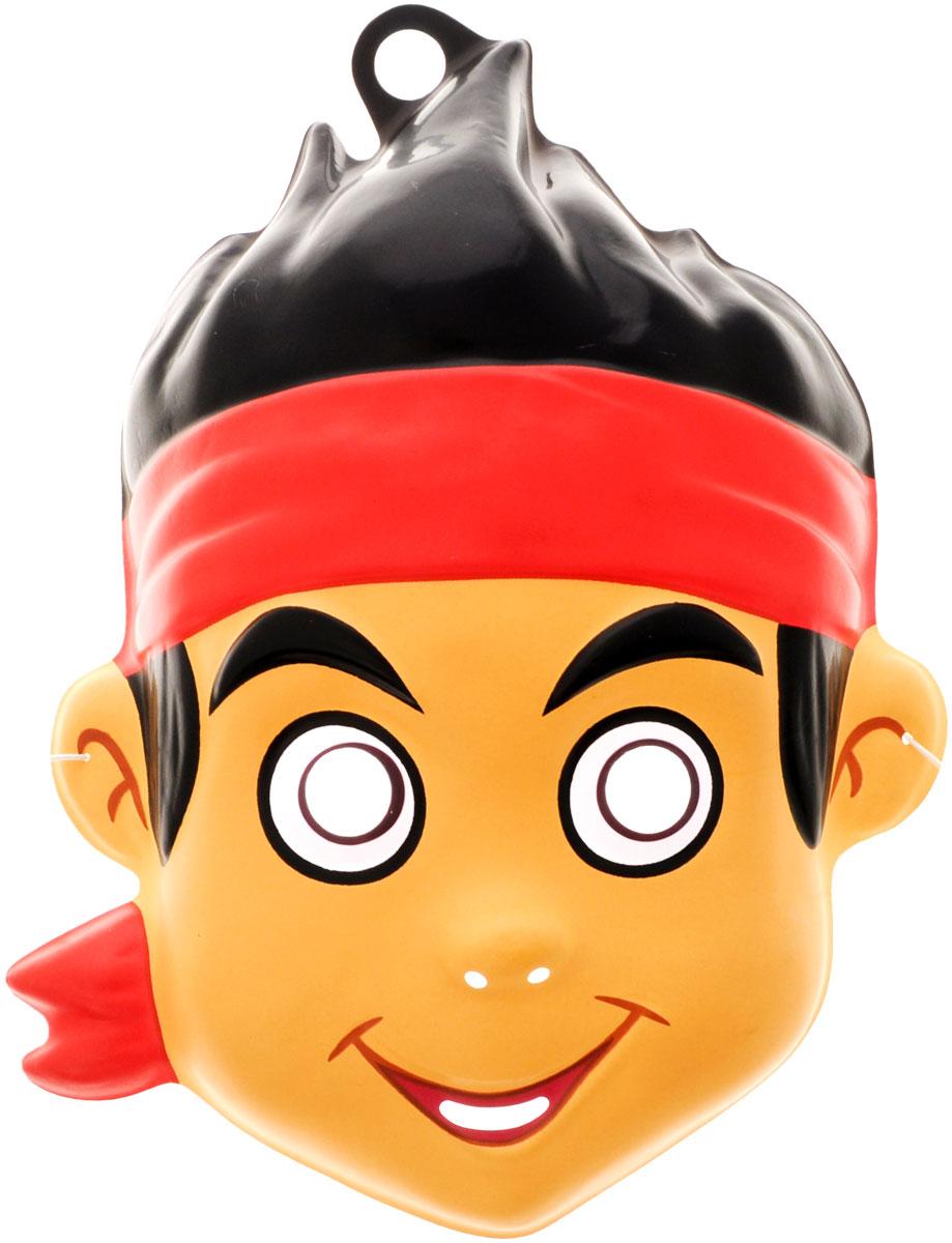 Disney Маска карнавальная Джейк23781Отправляясь на детский праздник, почему бы не создать образ Джейка из мультфильма Джейк и пираты Нетландии? Для этого пригодится маска, которую можно использовать даже в качестве единственного карнавального элемента в одежде малыша. Надев ее, юный участник костюмированного представления легко перевоплощается в любимого персонажа. Изделие на резинке, поэтому легко подогнать под нужный размер. В маске имеются прорези не только для глаз ребенка, но и возле носа, рта для обеспечения доступа воздуха. Изготовлена из безопасных и прочных материалов. Маска карнавальная Disney Джейк является отличным решением для карнавалов, утренников и просто детских праздников.