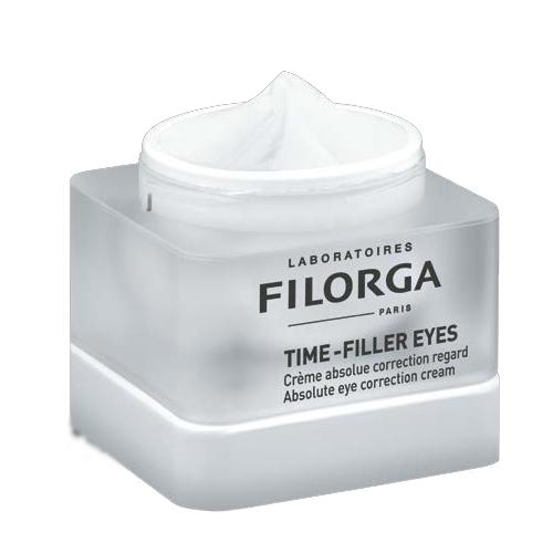 Filorga Коррект крем Time-Filler для глаз 15 млDCGP034Совершенный уход для контура глаз, корректирующий все признаки старения! С первых дней применения морщинки разглаживаются, веки подтягиваются,темные круги под глазами исчезают. Глаза выглядят моложе,а взгляд становится более открытым. Морщины: Комплекс Тайм-Филлер (аналогичный ботулотоксину активный компонент + пептид), объединенный с мезотерапевтическим комплексом , уменьшает мимические морщины и разглаживает микрорельеф кожи вокруг глаз Веки и ресницы: Мощный лифтинговый комплекс борется с потерей упругости верхних век. Одновременно с этим матрикин увеличивает объем ресниц. Круги под глазами: Заполняющие сферы последнего поколения воздействуют на круги под глазами. Комплекс на основе растений, объединенный с пилинг-компонентом, устраняет темные круги. Эффективность После 56 дней применения: Улучшается контур глаз 90% Кожа округ глаз увлажнена 100% Веки подтягиваются 70% Темные круги под глаза устранены 70% Совершенный уход для контура глаз, корректирующий все признаки старения!
