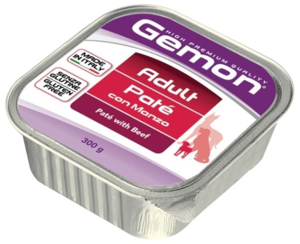Консервы Gemon Dog для собак паштет говядина 300 г70300506Гарантированный анализ: Сырой белок 8,5%, сырые масла и жиры 6,0%, сырая клетчатка 0,4%, сырая зола 1,5%, влажность 80%. Технологические добавки: загустители и желеобразующие компоненты. Витамины и добавки/кг: витамин А 2500 МЕ, витамин D3 250 МЕ, витамин Е (альфа-токоферол ацетат) 10 мг.Мясо и мясные субпродукты 80% (говядина 10%), минеральные вещества. Подавать корм комнатной температуры или подогретый. Важно, чтобы животное всегда имело доступ к чистой, свежей воде. Взрослой кошке необходимо 400 г продукта в день, суточную норму разделить на 2-3 приема пищи. Условия хранения: в прохладном темном месте