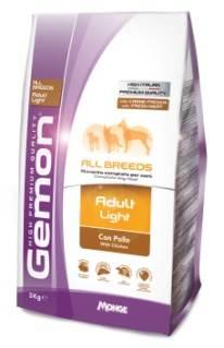 Корм Gemon Dog Light низкокаллорийный для взрослых собак всех пород 3 кг70386142Полноценный сбалансированный корм для взрослых собак всех пород возрастом 1-8 лет со склонностью к избыточному весу. Корм разработан специально для снижения и поддержания идеального веса собаки. L-Карнитин помогает уменьшить количество жировой ткани и способствует развитию мышечной массы. Не содержит искусственных красителей и ароматизаторов. Условия хранения: в прохладном темном месте
