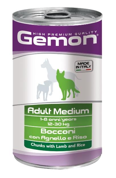 Консервы Gemon Dog Medium для собак средних пород кусочки ягненка с рисом 1250 г70387910Гарантированный анализ: Сырой белок 8,5%, сырые масла и жиры 6%, сырая клетчатка 0,5%, сырая зола 2,7%, влажность 80%. Витамины и добавки/кг: витамин А 2500 МЕ, витамин D3 250 МЕ, витамин Е (альфа-токоферол ацетат) 10 мг.Мясо и мясные субпродукты 45% (ягненок 5%), злаки (рис 4,2%), яйца, минеральные вещества. Технологические добавки: загустители и желеобразующие компоненты. Подавать корм комнатной температуры или подогретый. Важно, чтобы животное всегда имело доступ к чистой, свежей воде. Взрослой кошке необходимо 400 г продукта в день, суточную норму разделить на 2-3 приема пищи.