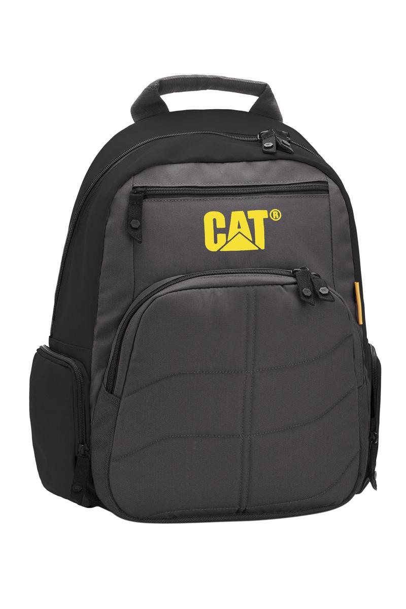 Рюкзак Caterpillar Brandon, цвет: черный, серый, 16 л