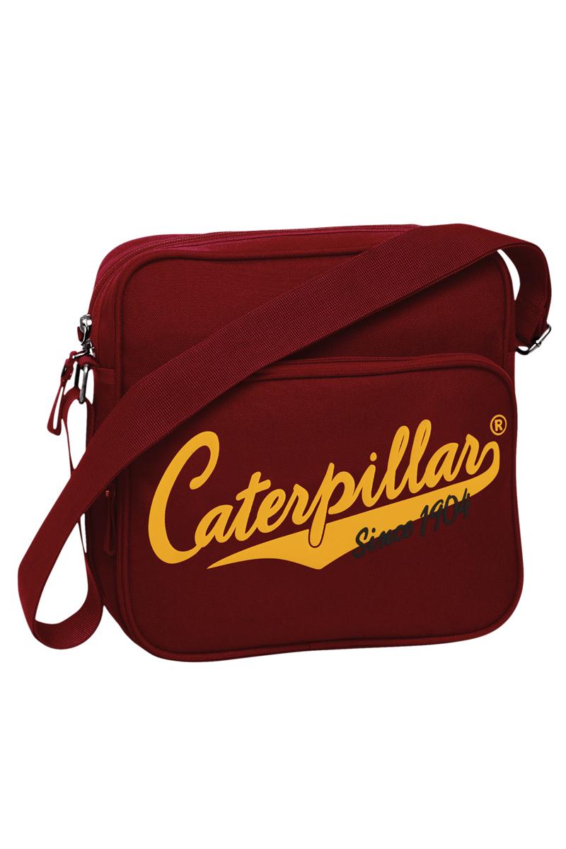 Сумка-планшет Caterpillar, цвет: темно-красный, 4 л. 82602-14982602-149Стильная сумка-планшет Caterpillar выполнена из полиэстера. Изделие имеет одно основное отделение, закрывающееся на застежку-молнию. Внутри имеется прорезной карман на застежке-молнии и мягкий карман для планшета, который закрывается на хлястик с липучкой. Снаружи, на передней стенке находится накладной карман на застежке-молнии, внутри которого находятся три накладных открытых кармашка и два держателя для авторучки. На задней стенке расположен накладной карман на липучке. Сумка оснащена регулируемым текстильным плечевым ремнем. Стильная сумка-планшет Caterpillar эффектно дополнит ваш образ и станет незаменимой в повседневной жизни.