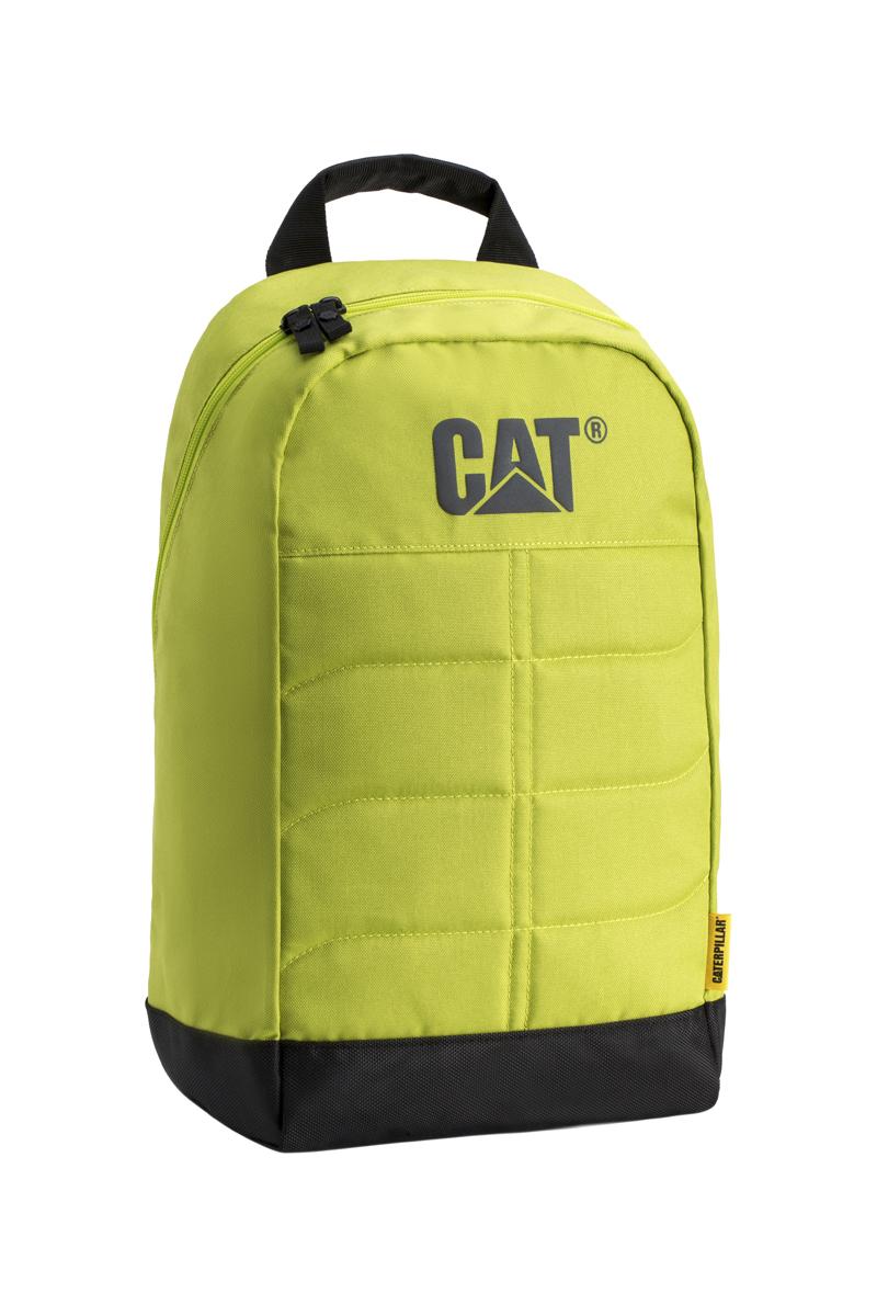 Рюкзак Caterpillar Benji, цвет: салатовый, черный, 18 л