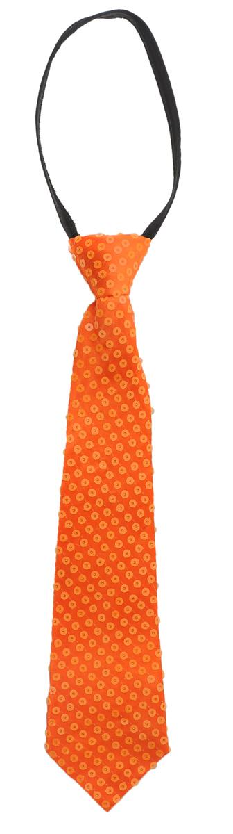 Галстук маскарадный Феникс-Презент, цвет: оранжевый34636Маскарадный галстук Феникс-Презент изготовлен из полиэстера и оформлен пайетками. Галстук оснащен регулируемой петлей на молнии. Если у вас намечается веселая вечеринка или маскарад, то такой аксессуар легко поможет дополнить праздничный наряд.