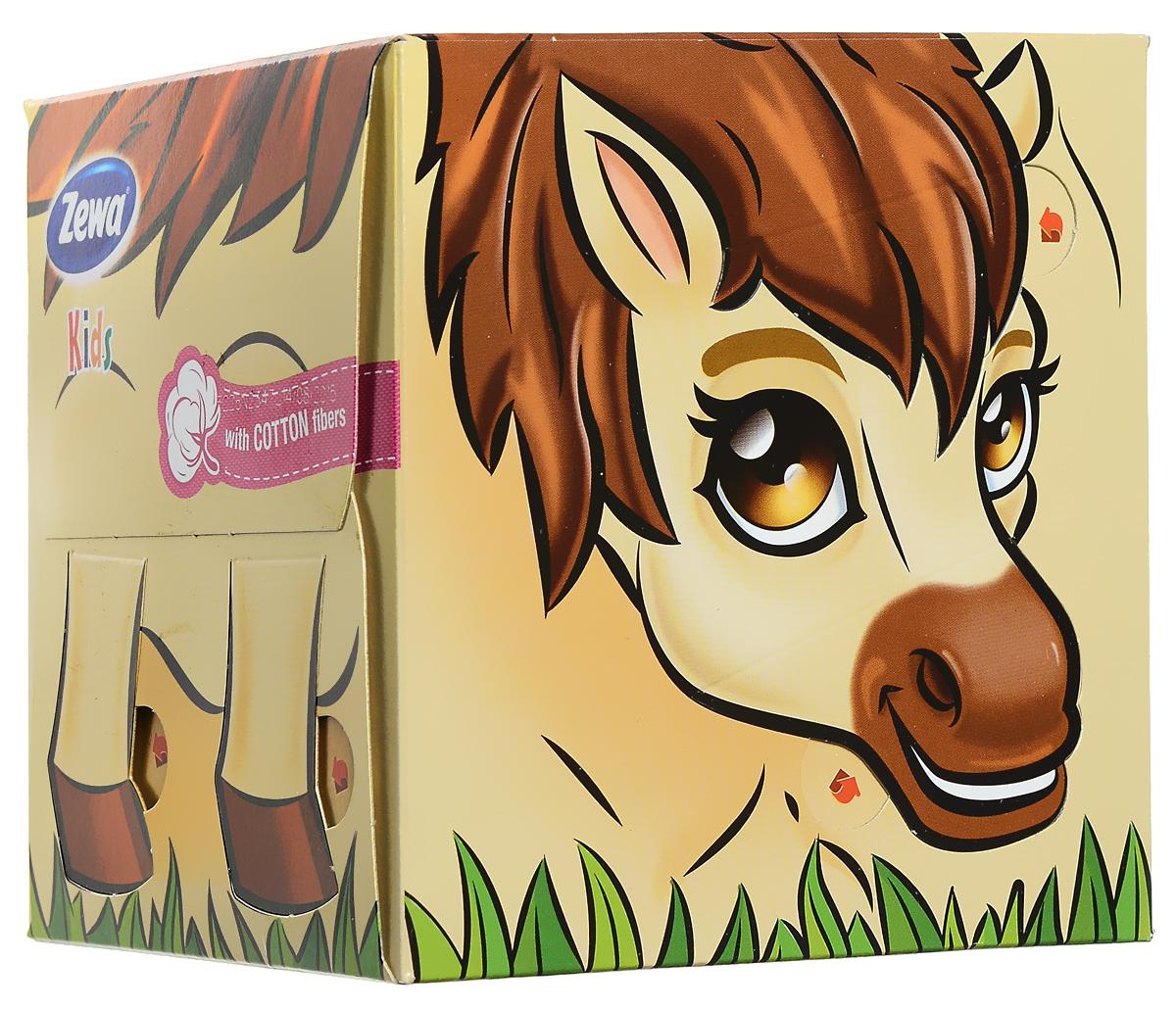 Zewa Бумажные платочки в коробке