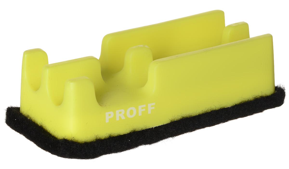 Proff Губка для офисных досок цвет желтый