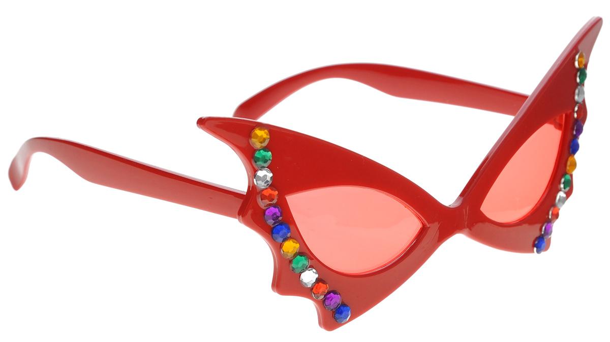 Очки карнавальные Феникс-Презент Элегантность31179Карнавальные очки Феникс-Презент Элегантность, изготовленные из пластика, выполнены в виде ретро очков со стразами. Они отлично дополнят ваш маскарадный костюм и помогут создать яркий образ. Очки предназначены для быстрого и необременительного перевоплощения на костюмированной вечеринке или маскараде. Сделайте свой праздник веселым и ярким!